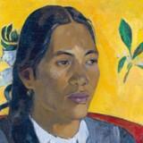 Paul Gauguin: »Vahine no te Tiare«.