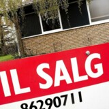 Arkivfoto. » I øjeblikket er der ifølge boligsitet Boliga.dk godt 30 huse til salg, hvor ejendomsmægleren har brugt sætningerne »tæt på motorvej«, »nær motorvej« eller »motorvej tæt på« i salgsannoncen.«