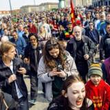 ARKIVFOTO. Global Marijuana March i København lørdag 4. maj 2013.