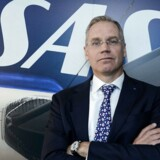 Rickard Gustafson, direktøren for SAS, mener ikke, at den skandinaviske placering er ideel til at være et transitpunkt. EPA/Bertil Enevag Ericson SWEDEN OUT