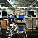 B&Os topchef, Tue Mantoni, ønsker mere tidssvarende og luksuriøs indretning af butikkerne. PR-foto