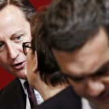Den britiske premierminister David Cameron og den græske ditto, Alexis Tsipras.