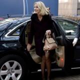 Helle Thorning-Schmidt ankom torsdag til EU-topmøde i Bruxelles.