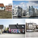 I opgørelsen ses det tydeligt, at det især er boligejerne i hovedstaden, der har været begunstiget af udviklingen på boligmarkedet i de seneste 20 år, mens huse i landets udkanter mange steder i dag koster mindre, end de blev solgt til i 1995.