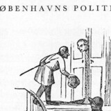 Fra Corsaren 10. januar 1845.