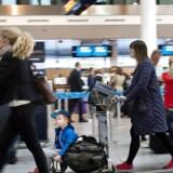 Flere passagerer og flere parkerede biler sikrede fremgang for Københavns Lufthavne på både top- og bundlinjen i årets tre første måneder. (Foto: Nils Meilvang/Scanpix 2015)