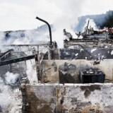Svinkløv Badehotel, nordøst for Fjerritslev er natten til mandag brændt ned til Grunden. Til BT