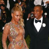 Beyoncé sammen med sin mand, Jay-Z.
