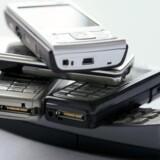 Der er bogstaveligt talt guld i gamle mobiltelefoner. Foto: Colourbox