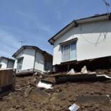 Den japanske by Kumamoto er igen blevet ramt af et kraftigt skælv.