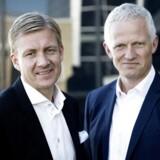 Koncerndirektør for salg og Grundfos-arving Poul Due Jensen og topchef i Grundfos Mads Nipper