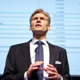 Danske Banks norske topchefs mobiltelefon kan være aflyttet, hvis han har været på besøg i bankens norske hovedkvarter i Oslo. Foto: Nils Meilvang