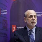 Det kan være fristende at vælge en topskole som London School of Economics at efteruddannne sig på. Men det er bedre i stedet at tænke over, hvad man skal bruge efteruddannelsen til, lyder rådet. På billedet taler den tidligere formand for Den Amerikanske Centralbank Ben Bernanke på LSE. Arkivfoto: Jason Alden/Reuters