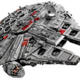 1. oktober kan man få fingrene i denne her sag. Legos Ultimate Collector Series #75192 – en ny udgave af Tusindårsfalken fra Star Wars. De 7.541 klodser kommer til at koste i omegnen af 7.000 kroner. Foto: Scanpix