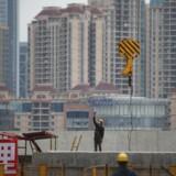 Nedgang i byggeriet i Kina har ramt både Danfoss og Grundfos i 2015. Arkivfoto: Aly Song/Reuters