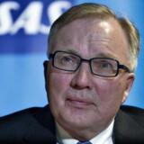 Den svenske og norske stat har valgt et fint tidspunkt at begynde at sælge ud af deres aktier i luftfartsselskabet SAS. Det mener Fritz Schur, der er bestyrelsesformand for SAS. Arkivfoto.