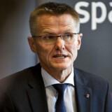 Spar Nord Bank skal nedlægge godt 100 stillinger de kommende tre år, siger adm. direktør Lasse Nyby.