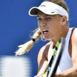 Caroline Wozniacki skal møde verdens nummer 18, når hun træder ind i sidste turnering inden US Open.