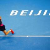 Caroline Wozniacki måtte se sig slået af tjekken Petra Kvitova.