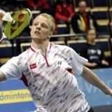 Den danske badmintonspiller Emil Holst.