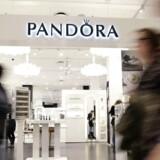 Amerikanske Maverick Capitals sats på kursfald i Pandora er nu gået under en særlig grænse igen. (Foto: Liselotte Sabroe/Scanpix 2017)