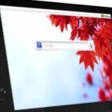 ZTE Light har en syv tommer stor skærm og indbygget mobilmodem. Foto: Telia