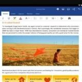 Word, Excel og Powerpoint til Android bliver nu lagt på nye Samsung-tavlecomputere direkte fra fabrikken. Foto: Microsoft