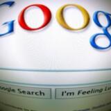 Google vil indstille scanningen af indhold i - i første omgang - studerendes Gmail-indbakker med henblik på udnyttelse til annonceformål. Senere vil scanningen af også erhvervsløsninger blive droppet. Foto: Joel Saget, AFP/Scanpix