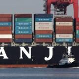 Maersk Line har nydt godt af, at den sydkoreanske rival Hanjin Shipping er gået konkurs.