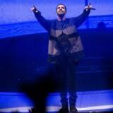 Canadiske Drake optræder i Forum i København mandag d. 3 marts 2014. (Foto: Mads Nissen/Scanpix 2014)