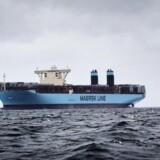 På vejen tilbage på TP12-ruten, som den hedder, vil Maersk Line sejle gennem Suez-kanalen og stoppe ved Salalah-havnen i Oman, Colombo-havnen i Sri Lanka og i Singapore. Og de ændringer vil ifølge rederiet forbedre produktet betydeligt. (Foto: Thomas Lekfeldt/Scanpix 2015)