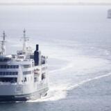 Scandlines færger på Femern Bælt