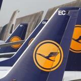 Arkivfoto. Aktien i det tyske flyselskab Lufthansa stiger på børsen i Frankfurt tirsdag 5,8 pct.