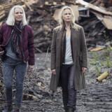Ugler i mosen: danske Kirsten Olesen og svenske Sofia Helin i »Broen III«. Foto: Caroline Romare