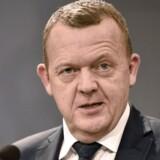 Statsminister Lars Løkke Rasmussen afholder pressemøde i Statsministeriet efter folkeafstemningsnederlaget om retsforbeholdet.
