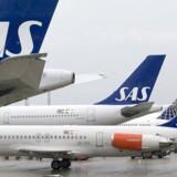 SAS transporterede 2,7 mio. passagerer i måneden, hvilket var 3,3 pct. flere end i samme måned året før.