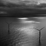 Canadiske Enbridge, som for nylig købte ejerandele fra Dong Energy i tre franske havvindmølleprojekter, har besluttet at gå sammen med amerikanske Spectra Energy og dermed skabe et energiinfrastrukturselskab med en værdi på 165 mia. canadiske dollar. Arkivfoto: Dong's nye off shore vindmølle park i Borkum Riffgrund .