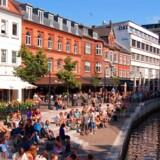 Åen i Aarhus.