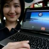 Her er Acers første PC med Google Android som styresystem i stedet for Windows eller Linux. Foto: Pichi Chuang, Reuters/Scanpix