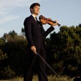Den verdensberømte violinist Charlie Siem elsker Maserati'er.