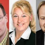 Kenneth Kristensen Berth, Pernille Bendixen og Henrik Brodersen er blandt de nye DF-folk i Folketinget.