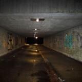 Indvandrere og efterkommere er især overrepræsenterede, når det gælder overfaldsvoldtægt. I denne tunnel i Tingbjerg fandt ni voldtægtsforsøg sted.