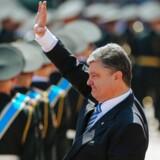 Lørdag formiddag blev den nyvalgte ukrainske præsident, Petro Porosjenko, taget i ed i parlamentet i Kiev.