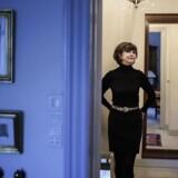 Sonja Oppenhagen fotograferet i hendes hjem i Charlottenlund.