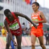 Det endte højst dramatisk, da den danske maratonløber Abdi Ulad søndag var i aktion ved herrernes maratonløb ved OL i Rio.