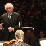 Marek Janowski dirigerede i Operaen.