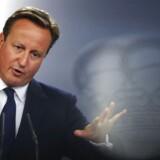 Arkivfoto. Storbritanniens premierminister David Cameron. REUTERS/Susana Vera
