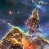 Gigantisk tåge af støv og gasser, hvor der dannes nye stjerner og planeter – og forudsætninger for liv: Carinatågen 7.500 lysår borte.