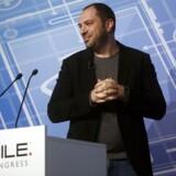 Jan Koum solgte forleden WhatsApp, som han er direktør for og medstifter af, til Facebook for 19 milliarder dollars. Danske teknologivirksomheder håber, at de kan blive de næste. Foto: Albert Gea, Reuters/Scanpix