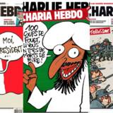 Berlingske har samlet en række af Charlie Hebdos kontroversielle forsider. Klik videre og læs om nogle af de meget omtalte tegninger.